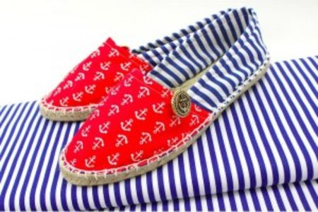 Make your own espadrilles - Obby