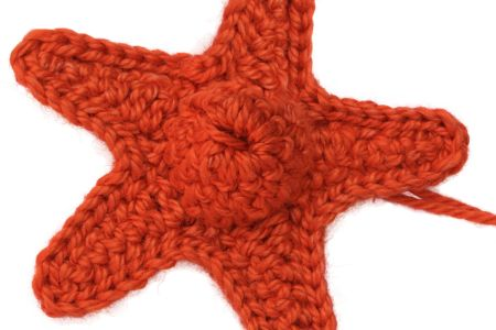 Beginners crochet: star garland - Obby
