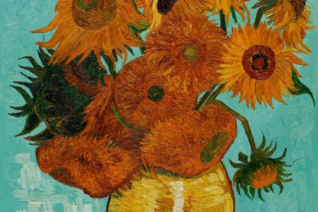Paint Van Gogh's Sunflowers: Liverpool Street - Obby
