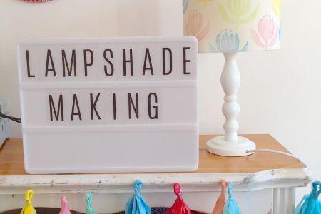 Bespoke lampshade making - Obby