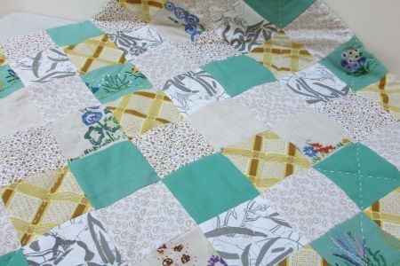 Make your own baby quilt - Obby
