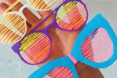 3D Printed Sunglasses - Obby