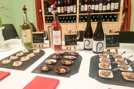 Food & organic wine matching - Obby