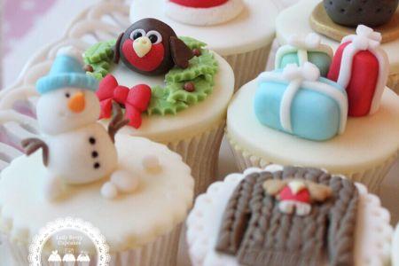 Christmas Miniatures Cupcake Class - Obby