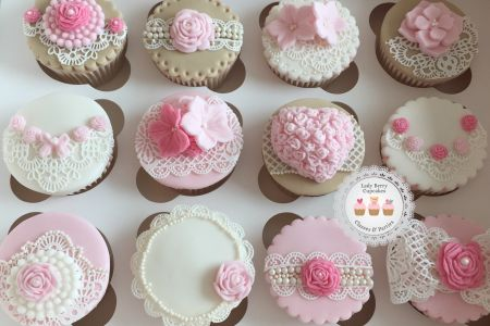 Sugar Lace Cupcakes Class London