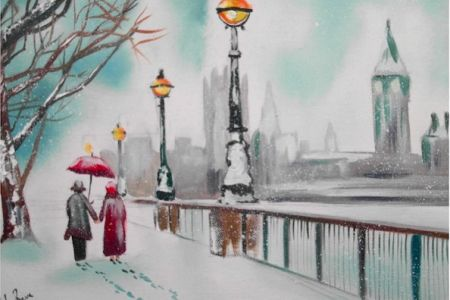Popup painting paint London in Croydon is an evening of great fun and laughs.