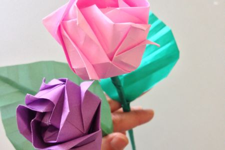 Learn to make origami for wedding decorations in Highgate - Obby