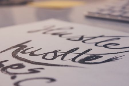 Calligraphy class in Victoria - Obby