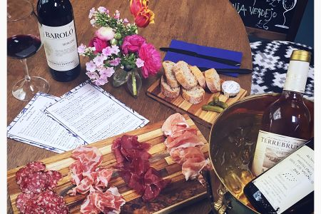 The Continental Pantry Italian wine tasting - from the expert growers and drinkers with Obby.