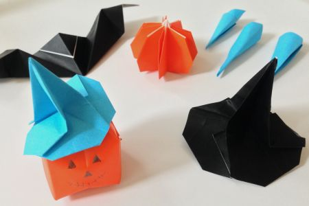 Learn to make spooky origami for halloween in Highgate - Obby