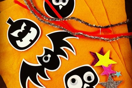 Do some Halloween themed craft with little crafters in Battersea - Obby
