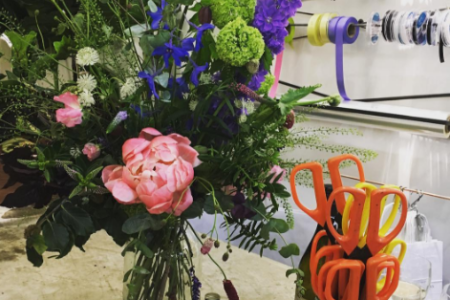 Make a bouquet with Grace & Thorn in Hackney - Obby