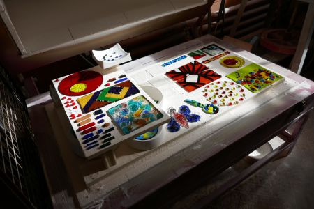 Kiln formed glass course for beginners and improvers in Wandsworth - Obby