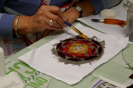 Advanced kiln formed glass course in Wandsworth - Obby