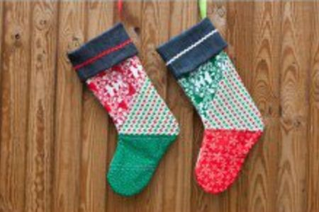 Make your own Quilted Christmas Stocking