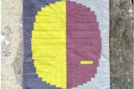Make your own Curved Log Cabin Quilt workshop in Hampstead