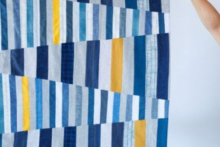 Learn the art of improvisation in this fun and hands-on patchwork class