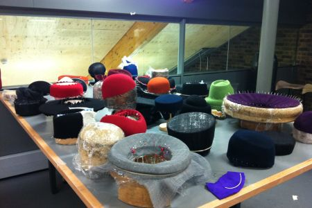 Try out this intensive 4 day millinery course in London and walk away with your very own hand-made hat.