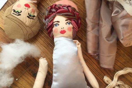 Make a stunning 'Angel Doll' this Christmas