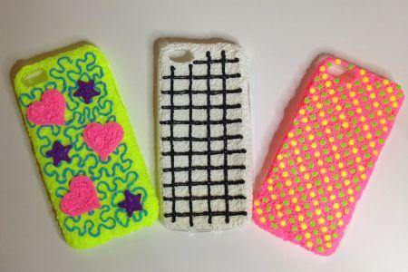 make a phone case using a 3D pen