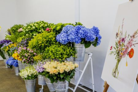 Bloomon flower arrangement workshop