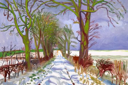 Paint like hockney class by PopUp painting