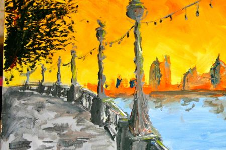 Paint London - painting by PopUp painting students