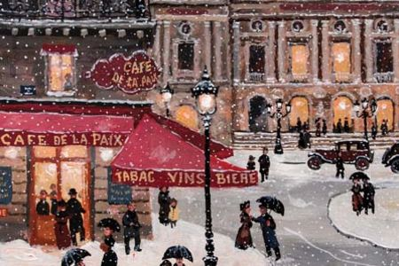 Join this fun and sociable class with Popup Painting on Southbank and paint a wintry Paris scene.