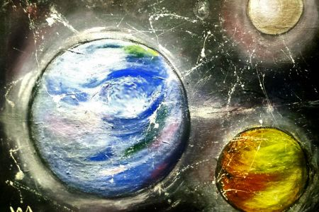 Time to get creative in this fun and hands-on PopUp Painting session, in which students will chance their arm at painting the planets, accompanied by a glass or two of wine.