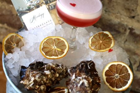 Come along to this fun and indulgent Valentine's day cocktail master class with oysters in Shoreditch.