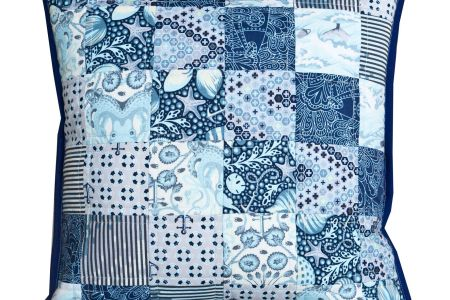 Make your own Quilted Winter Cushion workshop in Hampstead