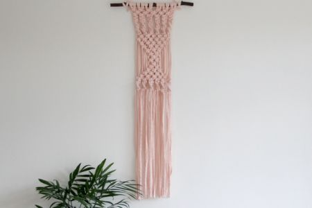 Create a wonderful macramé wall hanging in this fun and active class with teacher Susana Cunha.