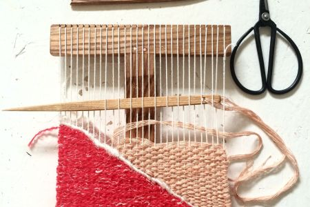 Learn how to make your own beautiful woven wall hangings in this inspiring class.