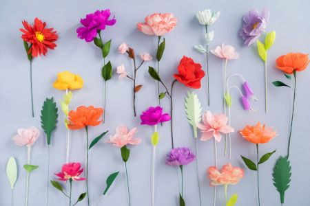 Learn how to make beautiful flowers from paper in this fun and arty course with The Village Haberdashery.