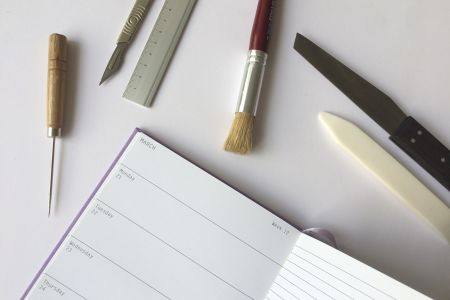 Join Novella Bookbinding for this fun and informative traditional bookbinding workshop in Holborn, London and take away your very own notebook.