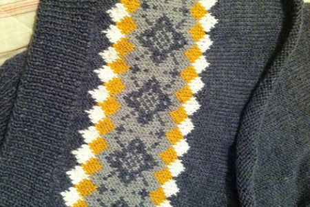 Learn how to incorporate colourful, geometric patterns into your projects in the 'Learn How to Knit Fairisle' class at Fabrications in Hackney, London
