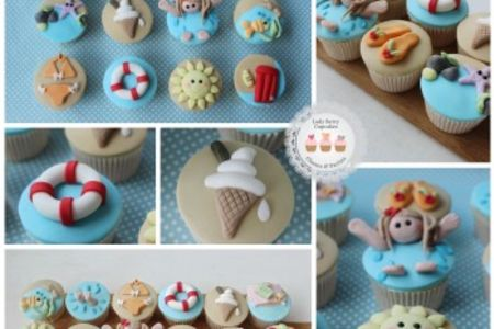 Summer is on the way! Brighten up your cupcakes with the 'Summer Holiday Class' at Lady Berry Cupcakes in Wandsworth, London