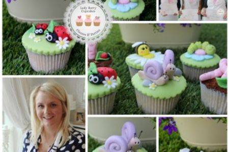 Create adorable spring-inspired bugs for your cupcake projects at the Garden Bugs Class at lady berry Cupcakes in Wandsworth, London.