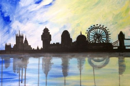 Come and join this fun and informative art class in the heart of London. Unleash your creative side with some paint and wine!
