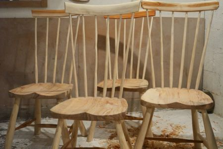 In this woodworking workshop you will learn how to make a chair. Take this course if you want to get your hands dirty and start making your own furniture