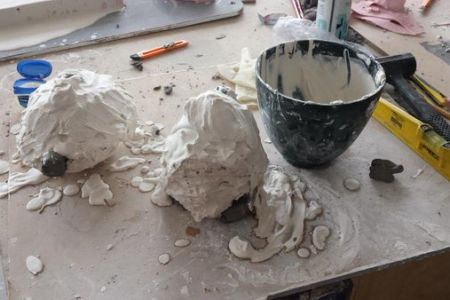 Come join this exciting 2 day weekend course offering an introduction to Plaster, with London Sculpture Workshop.