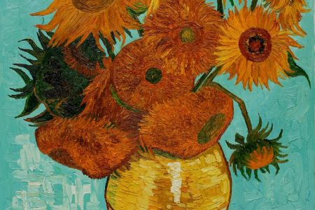 Learn how to paint with Popup painting London in St Pauls London, painting Van Gogh's painting