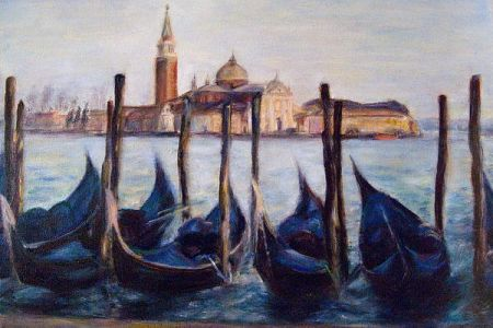 PopUp Painting is the perfect introduction to painting in London! Your art experience is inspired and themed beautiful Venice.
