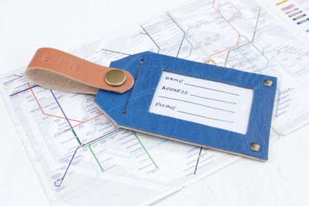 Travel in style with this 'Leather Luggage Tag & Passport Holder Workshop' at Tea & Crafting in Camden, London.