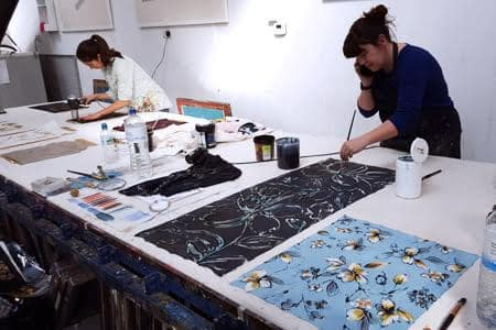 Textile screen printing two day course in Woolwich - Obby