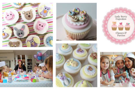 In this class you and your child will learn to decorate cupcakes with butter cream and sea-themed fondant details - Obby