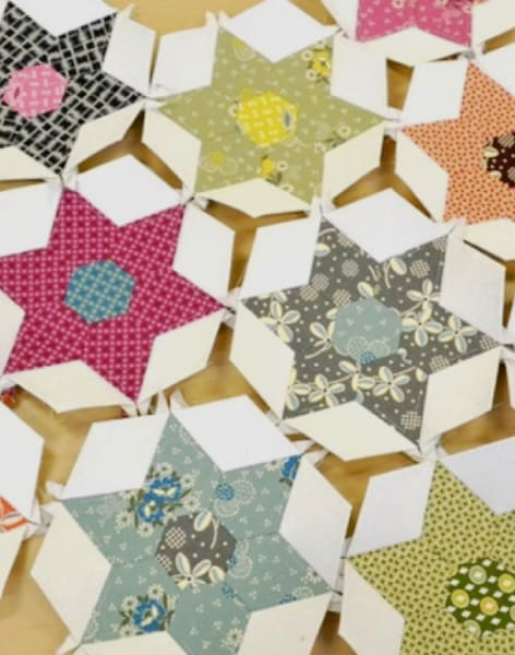 Paper Piecing Patchwork by Tea & Crafting - crafts in London