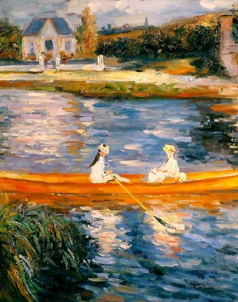 Paint Renoir by PopUp Painting - art in London