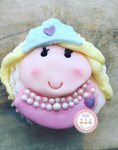 Adult & Child Princess Cupcakes by Lady Berry Cupcakes - food in London