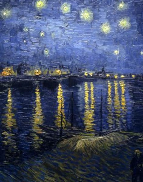 Paint Starry Night – Canary Wharf by PopUp Painting - art in London